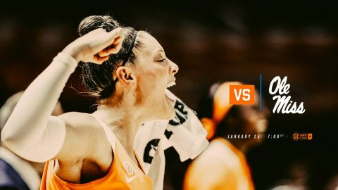 Tennessee Women's Basketball to play Ole Miss at Thompson-Boling Arena Thursday night. Tip off is at 6:02pm CT. (Tennessee Athletics)