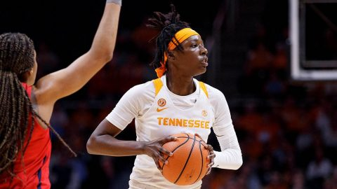 Tennessee Women's Basketball gets 75-66 win over Ole Miss Thursday night at Thompson-Boling Arena. (Tennessee Athletics)