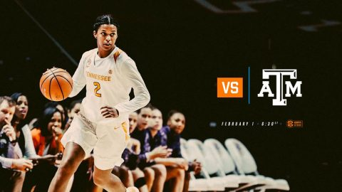 Tennessee Women's Basketball takes on Texas A&M Thursday at Thompson-Boling Arena. Tip off is at 5:32pm CT. (Tennessee Athletics)