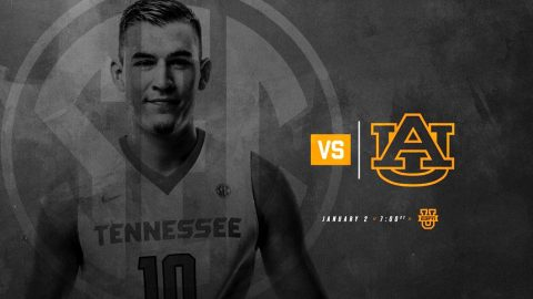 Tennessee Men's Basketball take on Kentucky at Thompson-Boling Arena Saturday night. Tip off is at 8:00pm CT. (Tennessee Athletics)