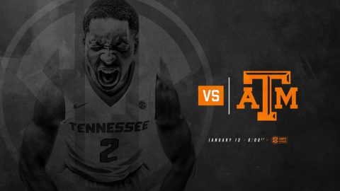 Tennessee Men's Basketball to host Texas A&M Aggies at Thompson-Boling Area Saturday night. (Tennessee Athletics)