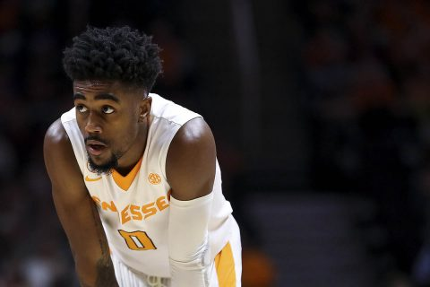 Tennessee Men's Basketball sophomore Jordan Bone scored 12 points in win over LSU Wednesday night at Thompson-Boling Arena. (Tennessee Athletics)