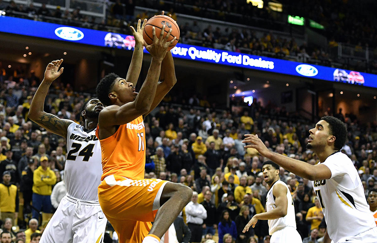 Tennessee vs. Missouri College Basketball Predictions Against The Spread