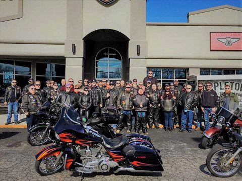 Tuckessee H.O.G Chapters Polar Bear ride