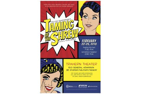 2018 APSU presentation of Taming of the Shrew
