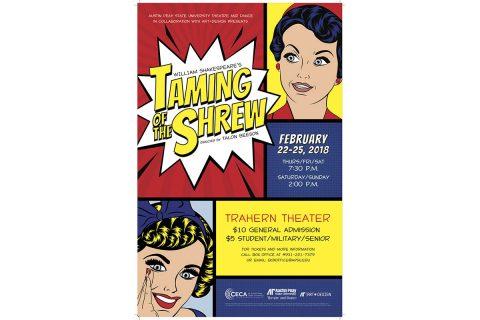 2018 APSU presentation of Taming of the Shrew