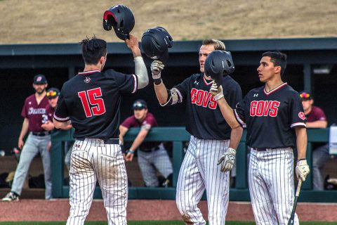 Austin Peay Baseball falls at home to Southern Illinois, 16-7. (APSU Athletics)