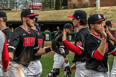 Austin Peay Baseball unable to stay with Vanderbilt in 19-6 loss Tuesday night in Nashville. (APSU Sports Information)