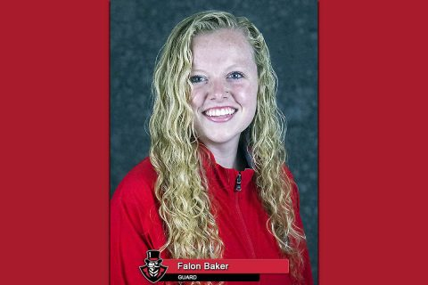 APSU Basketball - Falon Baker