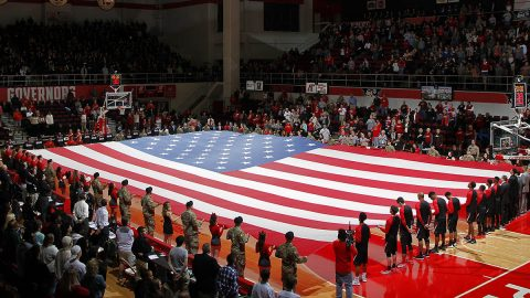 Austin Peay Athletics to hold Military Appreciation Night in conjunction with the men and women's basketball doubleheader against Jacksonville State on Febuary 17th in the Dunn Center. (Robert Smith, APSU Athletics)