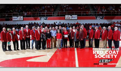 Jeff Bibb and Ricky Cooksey to become newest members of the Austin Peay Governors Club Red Coat Society Saturday, February 24th. (APSU Sports Information)