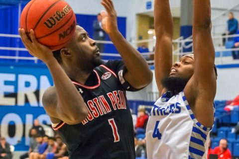 Austin Peay Men's Basketball plays the Tennessee Tech Golden Eagles Thursday night at the Dunn Center. Tip off is at 7:30pm. (APSU Sports Information)