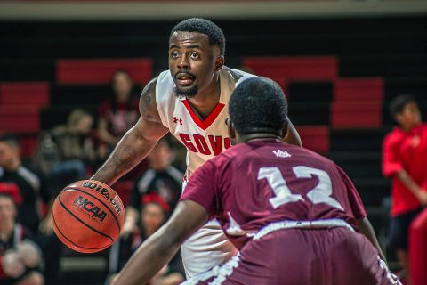Austin Peay Men's Basketball faces Jacksonville State in OVC action at the Dunn Center, Saturday. Tip off is at 7:00pm. (APSU Sports Information)