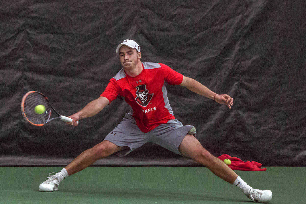 Austin Peay Men's Tennis travels to Lipscomb Saturday for 5:00pm match then heads to Louisville for 6:00pm Sunday game. (APSU Sports Information)