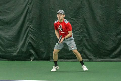 Austin Peay Men's Tennis loses tough match to Louisville Sunday. (APSU Sports Information)