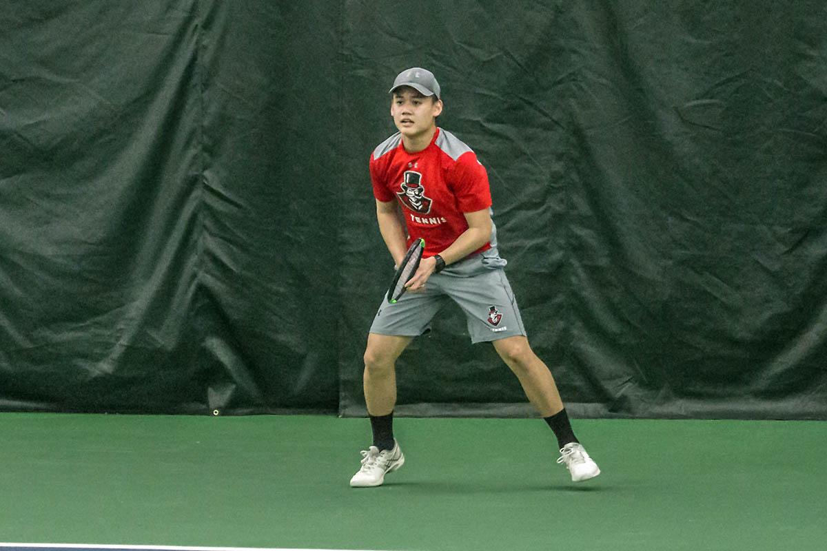 Austin Peay Men's Tennis loses tough match to Louisville Sunday. (APSU Sports Information)