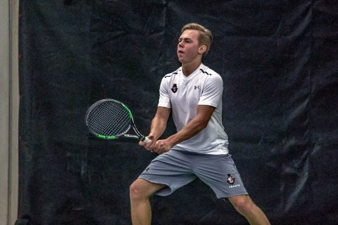 Austin Peay Men's Tennis continues seven game road trip at Southern Indiana, Friday. (APSU Sports Information)