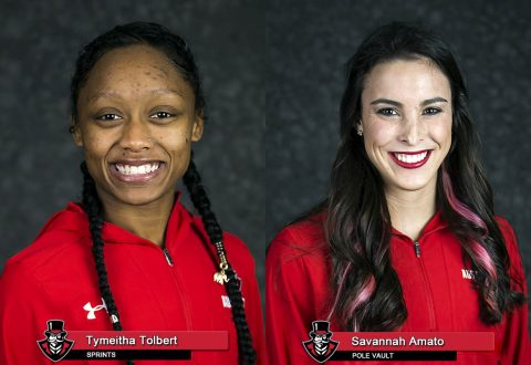 APSU Track and Field - Tymeitha Tolbert and Savannah Amato