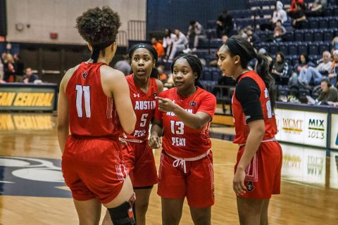 Austin Peay Women's Basketball drops road game to UT Martin Thursday afternoon, 100-66. (APSU Sports Information)