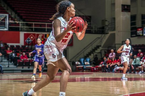Austin Peay Women's Basketball comes up short in physical game at SIU Edwardsville Wednesday night. (APSU Sports Information)
