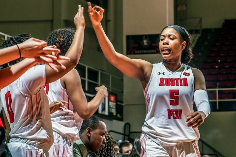 Austin Peay Women's Basketball travels to Evansville to play SIU Edwardsville in OVC Tournament action Thursday. (APSU Sports Information)