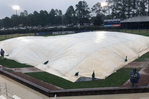 Austin Peay Softball has it 2018 season opening games delayed due to bad weather in Statesboro, GA. (APSU Sports Information)