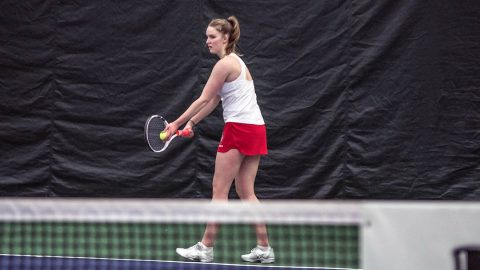 Austin Peay Women's Tennis just come up short at Dayton, Friday. (APSU Sports Information)