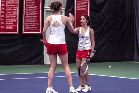 Austin Peay Women's Tennis loses at Louisville 6-1 Friday. (APSU Sports Information)