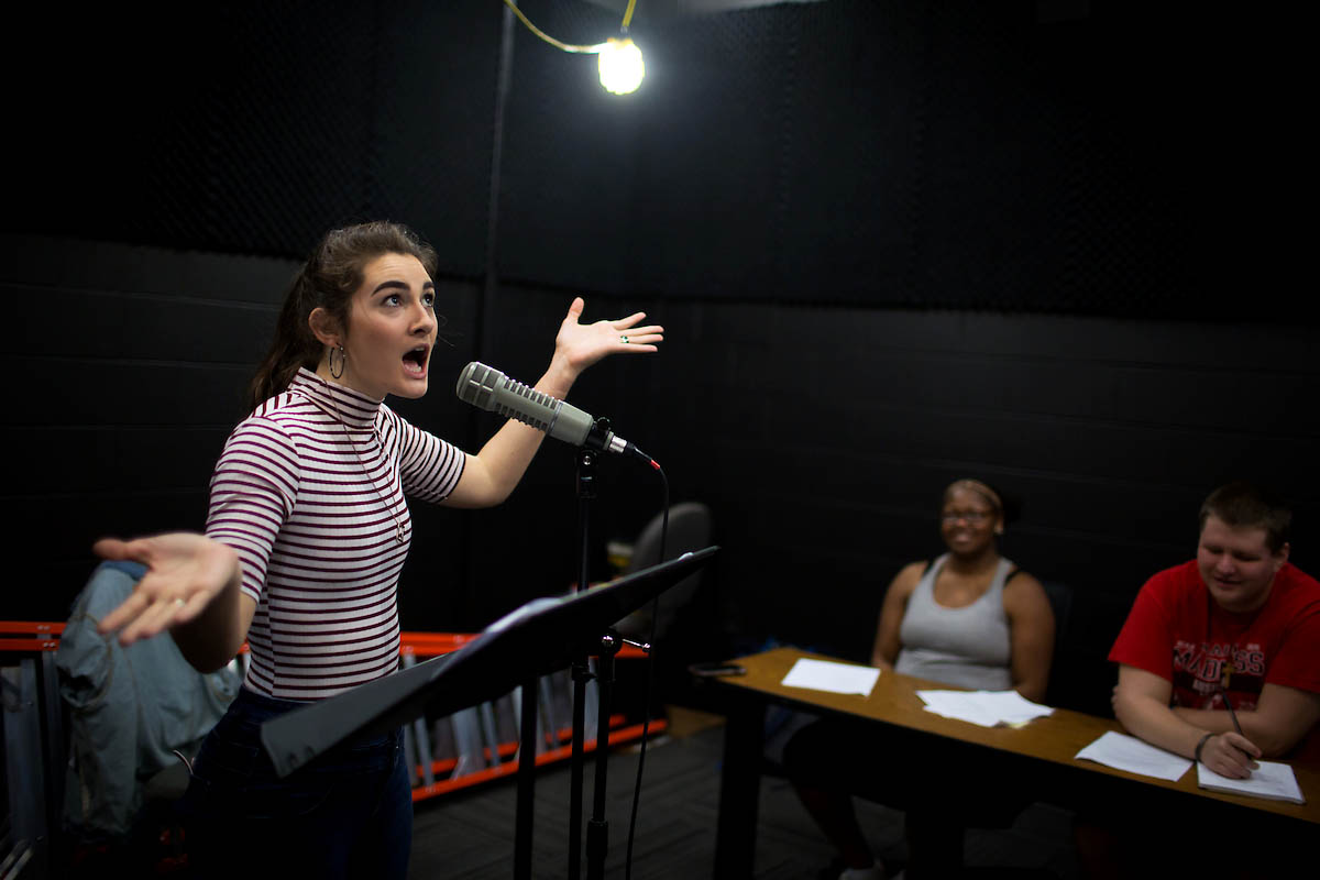 APSU Students creating Restoration and 18th-century adaptations of a Shakespeare's play.