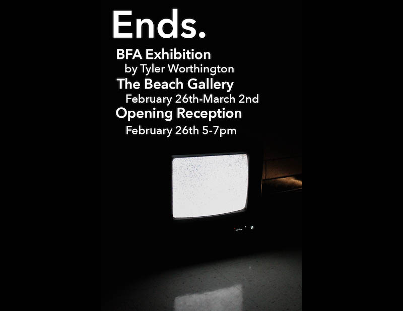 APSU student David Worthington art exibition to open February 26th