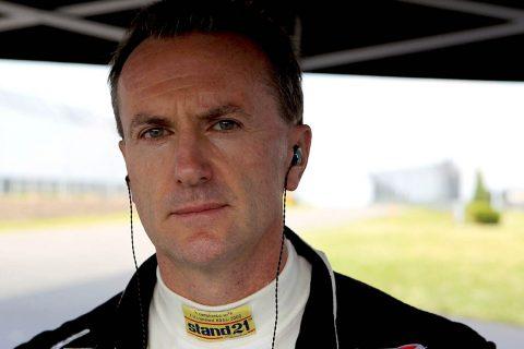 Professional Race Driver Andy Pilgrim.