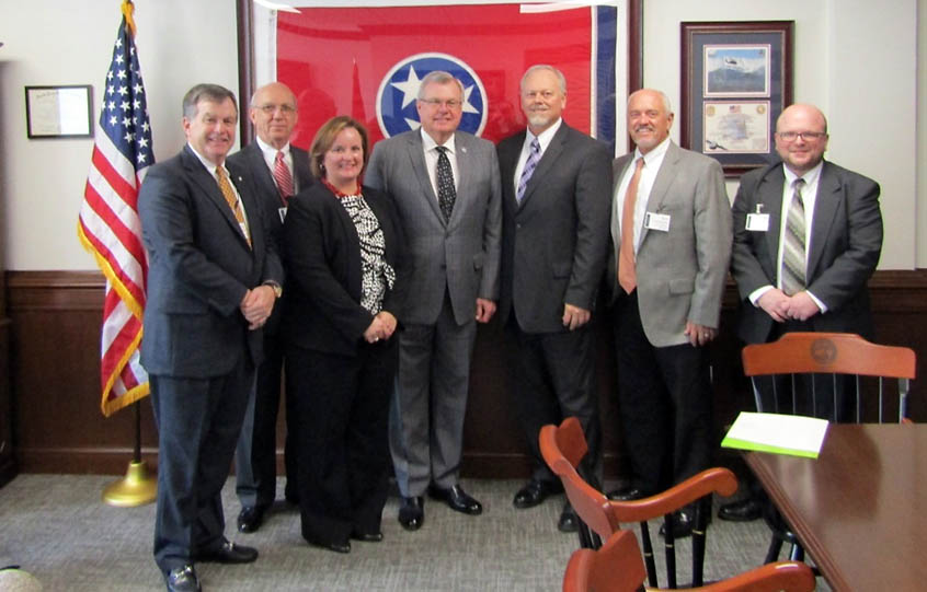 CDE Lightband visits the Tennessee Capitol