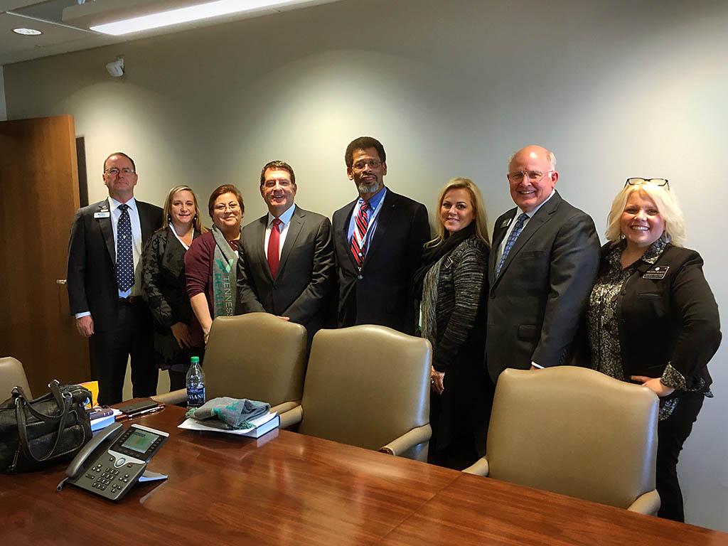 Tennessee Senator Mark Green with Clarksville Association of Realtors Members.