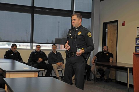 Clarksville Police Captain Ty Burdine. (Jim Knoll, CPD)
