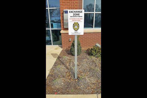 Clarksville Police Department's Exchange Zone.