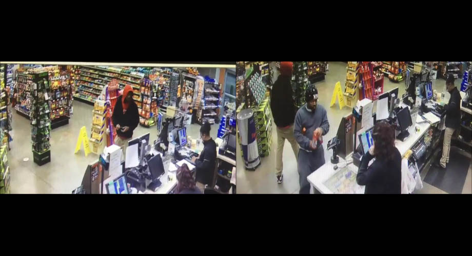 Clarksville Police are interested in talking to the two individuals in these photos who may have information on an attempted robbery that occured outside the MAPCO on Tiny Town Road.