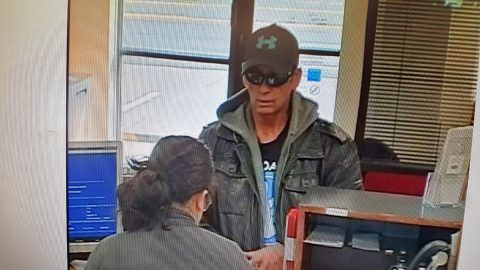 Clarksville Police are looking for the Band of America robbery suspect in this photo.