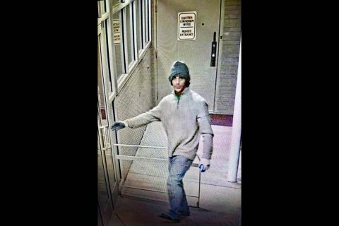 Clarksville Police are trying to identify the person in this photo in connection to a burglary on Pageant Lane.