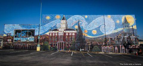 Clarksville Starry Night