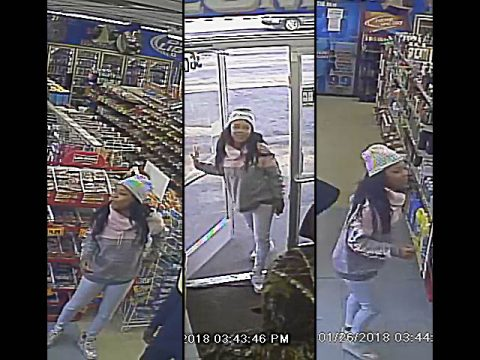 Clarksville Police believe the person in these photos may have information in the homicide case of Detrick Mosley.