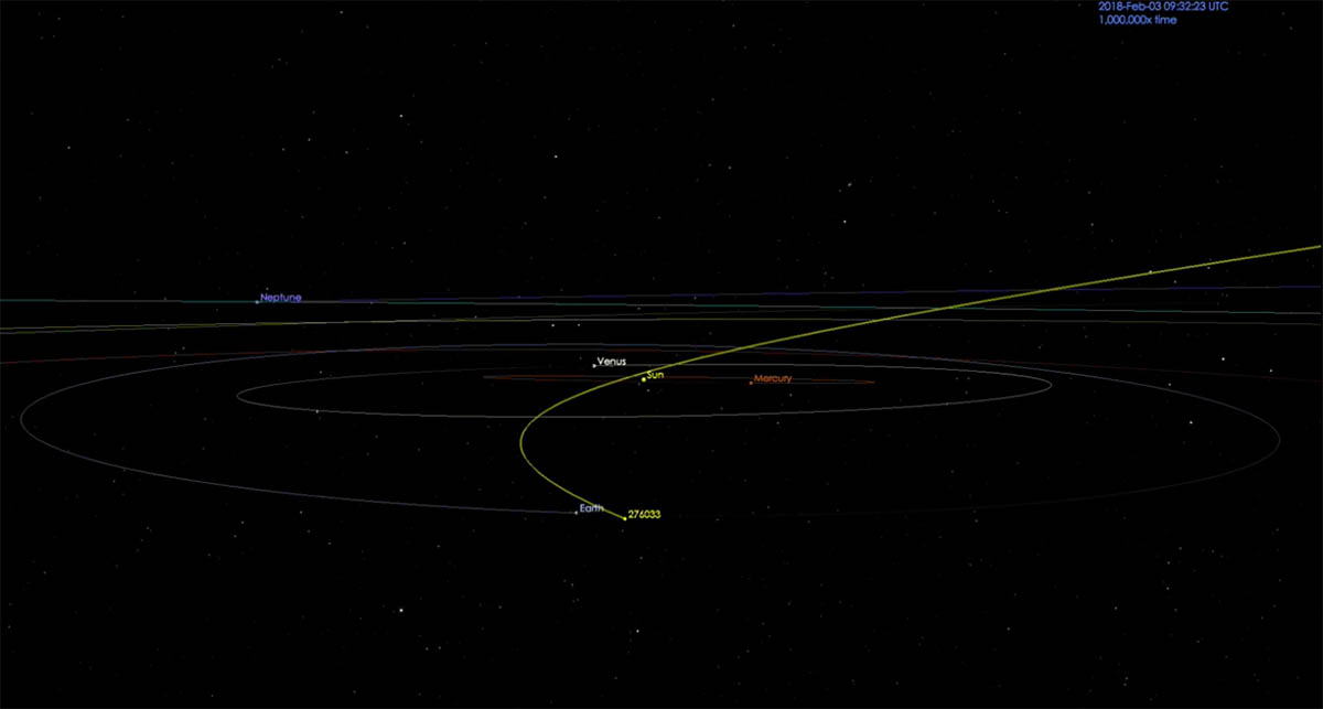 Asteroid passing Earth on Sunday poses no threat