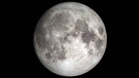 If the Moon has enough water, and if it's reasonably convenient to access, future explorers might be able to use it as a resource. (NASA's Goddard Space Flight Center)