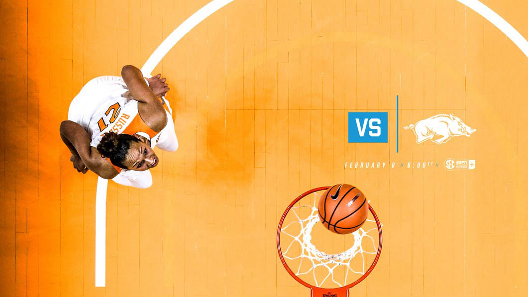Tennessee Women's Basketball is on the road Thursday at Arkansas. Tip off is at 7:00pm CT. (Tennessee Athletics)