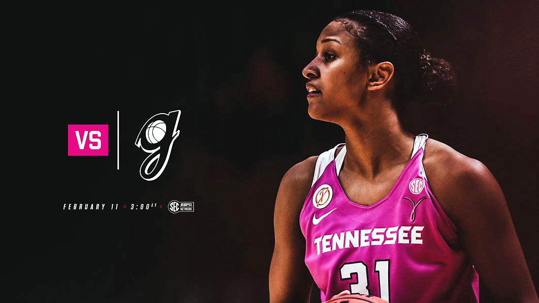 Tennessee Women's Basketball to host the Georgia Bulldogs Sunday at Thompson-Boling Arena. Tip off is set for 2:00pm CT. (Tennessee Athletics)