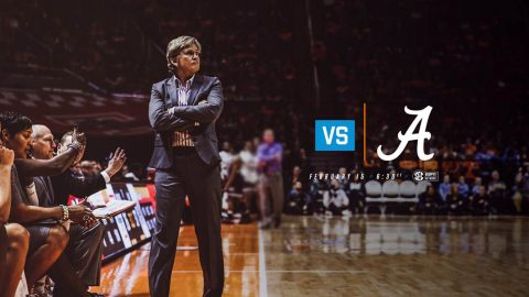 Tennessee Women's Baskeball takes on Alabama Thursday at Thompson-Boling Arena. Tip off is at 5:32pm CT. (Tennessee Athletics)