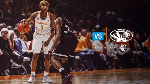 Tennessee Women's Basketball plays Missouri at Mizzou Arena Sunday afternoon. Tip off is at 1:00pm CT. (Tennessee Athletics)