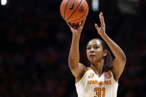Tennessee Women's Basketball senior scored 25 points in loss to Missouri Sunday. (Tennessee Athletics)