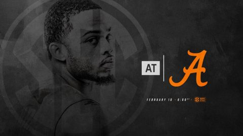 Tennessee Men's Basketball takes on Alabama Crimson Tide last Saturday afternoon in Tuscaloosa. Tip off is at 500pm CT. (Tennessee Athletics)