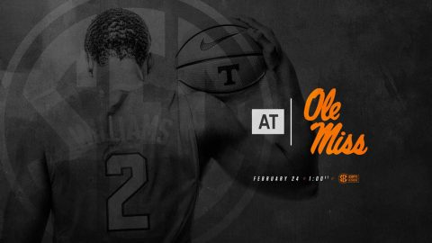 Tennessee Men's Basketball hits the road Saturday to take on the Ole Miss Rebels. Tip off is at 12:00pm CT. (Tennessee Athletics)