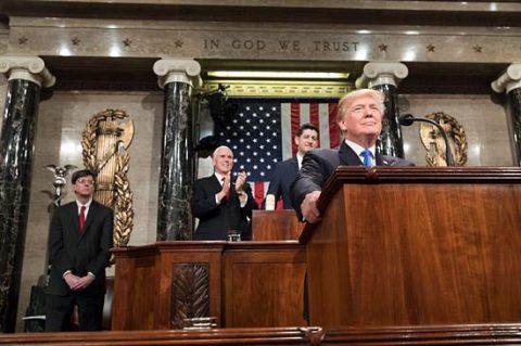 U.S. President Donald Trump's State of the Union address